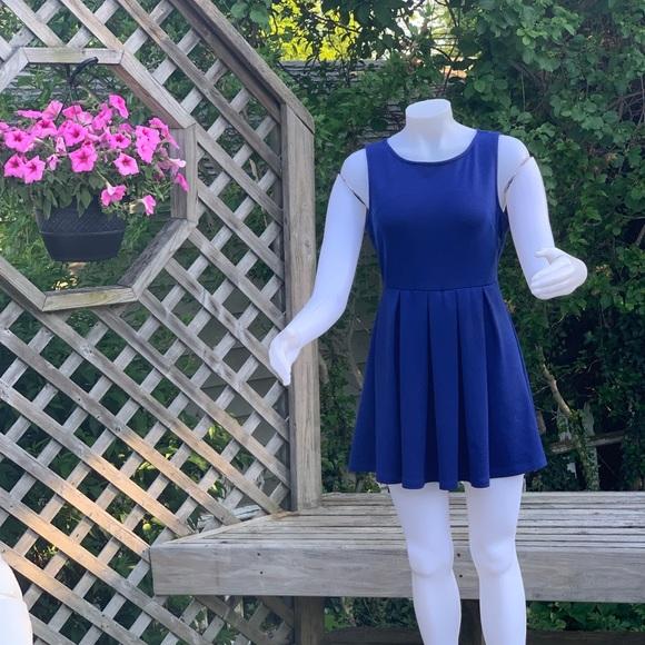 Dresses & Skirts - Royal blue mini dress